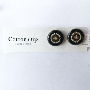 【Cotton cup】イヤリング④