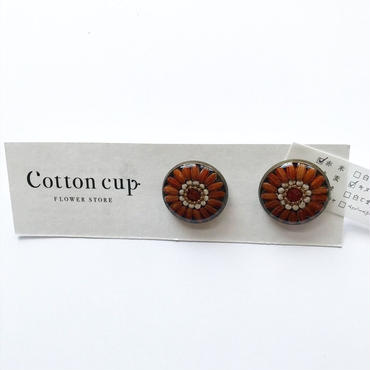 【Cotton cup】ピアス①