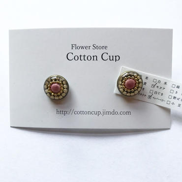【Cotton cup】イヤリング⑥