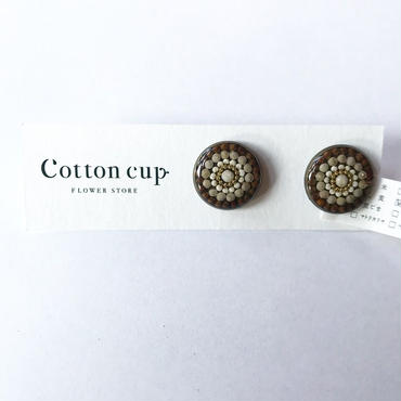 【Cotton cup】イヤリング①