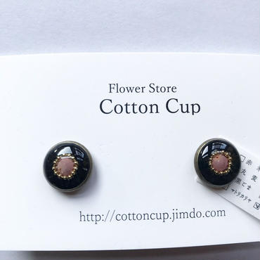 【Cotton cup】イヤリング⑦