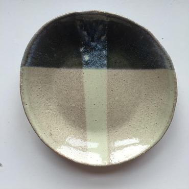三彩plate-motokawa tomoko-
