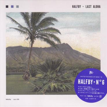 HALFBY / LAST ALOHA / CD