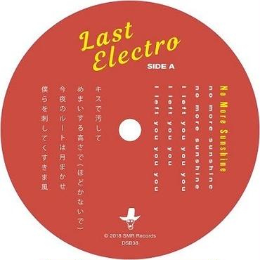 LAST ELECTRO / NO MORE SUNSHINE / 7INCH