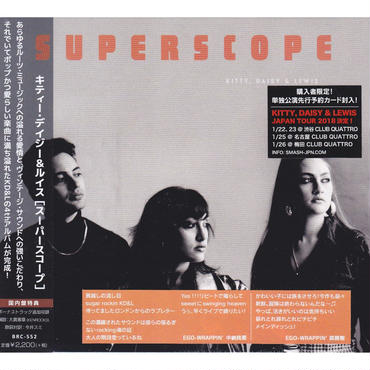 Kitty, Daisy & Lewis / Superscope / CD