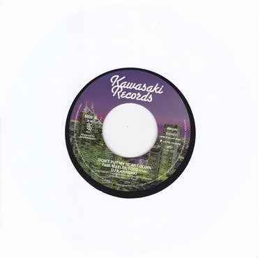 DJ KAWASAKI / Don't Put My Heart Down / 7inch