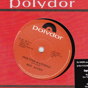 ROY AYERS / PLEASURE / OUR TIME IS COMING C/W TAKE A CHANCE / 7inch