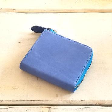QUADSTAR Lジップマルチパース TEMPESTI  larimar blue