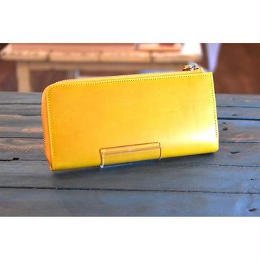 QUAD STAR  Lジップモバイルパース  WALPIER-BUTTERO .mustard