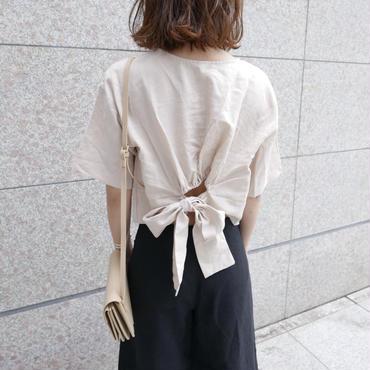 【数量限定/7月上旬】waist ribbon tops