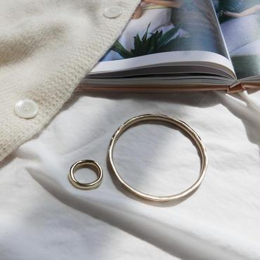 【予約商品】18K simple ring