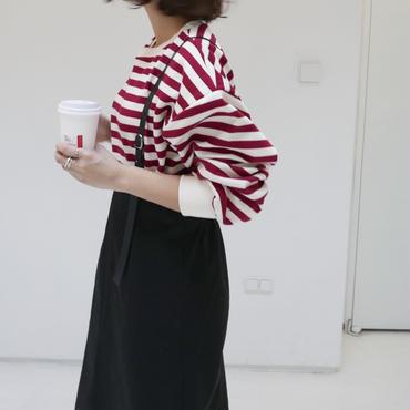 【予約商品/3月初旬発送】ボーダーballoonスウェット