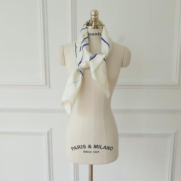 【予約/7月中旬】シルクlarge scarf