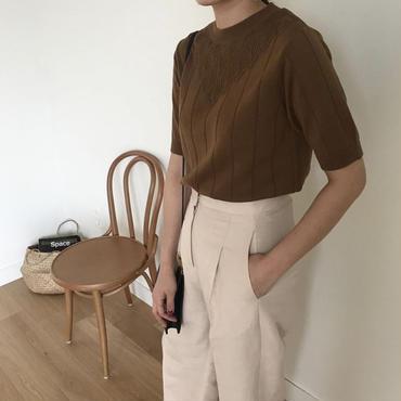 【数量限定/4月下旬発送】spring knit tops