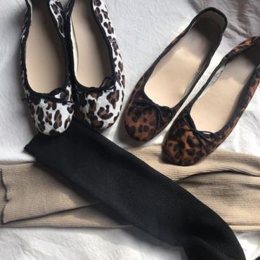 【サイズ限定】leopard フラットシューズ