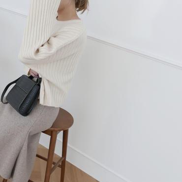 【予約商品】square bag