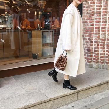 【数量限定】リバーシブルボアlong coat