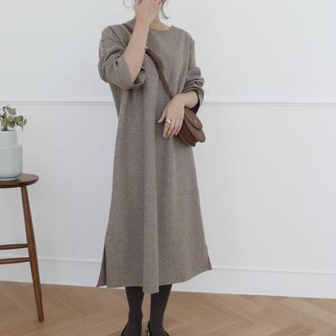 【予約商品】wool simple OP