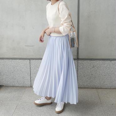 【予約/5月中旬】summer pleats SK