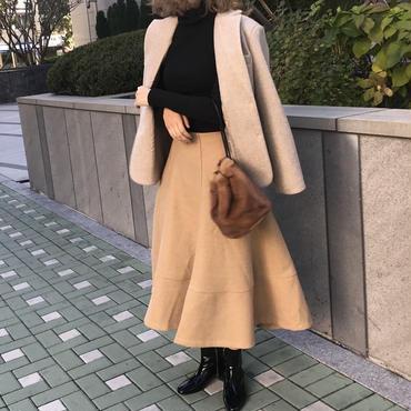 【予約商品】wool winter long sk