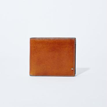 GORBE イタリアンレザーカラーエッジ二つ折り財布[Begin11月号掲載]