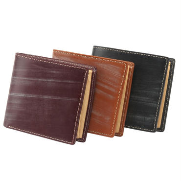 GORBE ブライドルレザー二つ折り財布