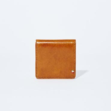 GORBE イタリアンレザーメッシュボックスコインケース