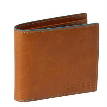 GORBE アニリンバッファローレザー二つ折り財布