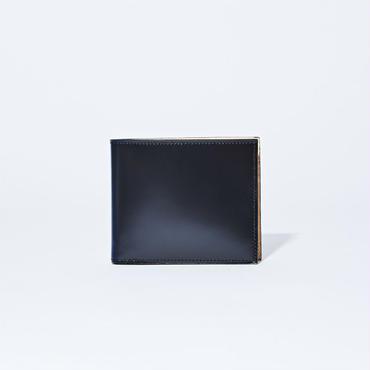 コードバン純札二つ折り財布(小銭入れ非搭載)