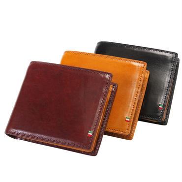 GORBE イタリアンレザー二つ折り財布[名入れ無料]