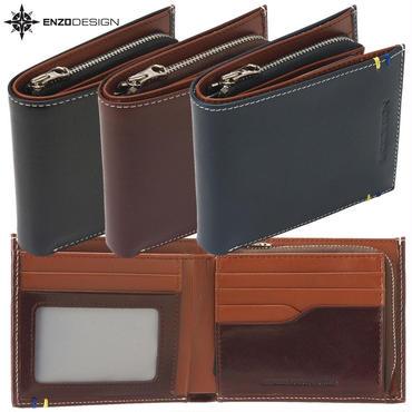ENZODESIGN ヤンキー社イタリアンレザー二つ折り財布