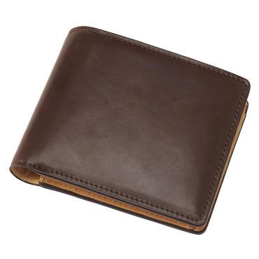 GORBE オイルコードバン二つ折り財布