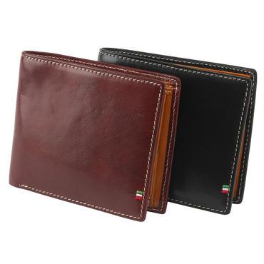 GORBE イタリアンレザースマート二つ折り財布