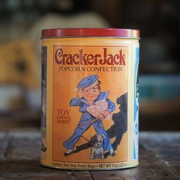 90sアメリカクラッカージャックTIN缶