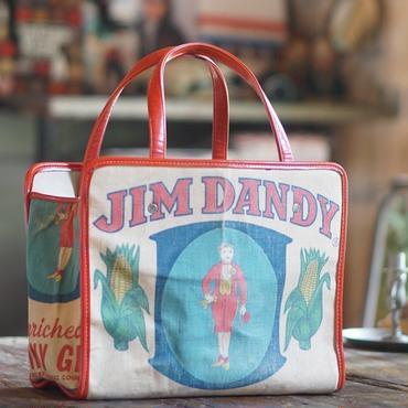 60s~70sヴィンテージキャンバス×レザートートバッグ