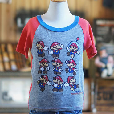 スーパーマリオキッズTシャツ