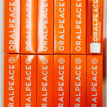 【業務用100本セット‼︎1本あたり800円(税別)‼︎】オーラルピース サンシャインオレンジ 歯みがき&口腔ケアジェル   まとめ買いに プレゼントに 防災備蓄用に イベントに