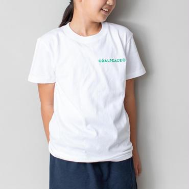 オーラルピース  Tシャツ 【PEACEデザイン】Kidsサイズ(120cm・150cm)