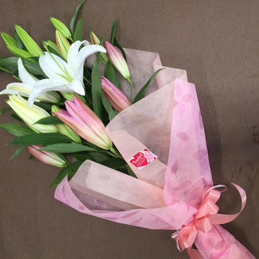 Bunch of Lilies (L) 人気商品 お彼岸