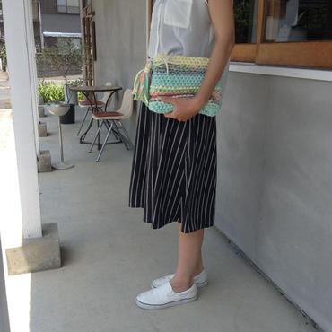 サマーガールの指編みバッグ(訳あり品)