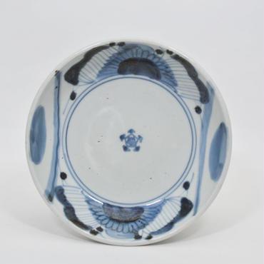 伊万里菊と丸文なます皿