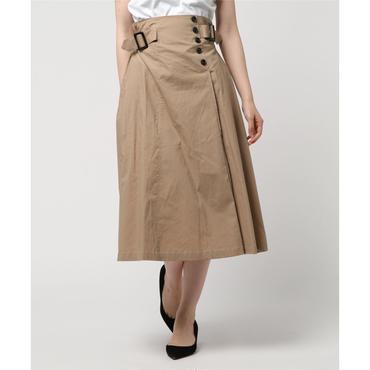 綿ブロードフレアスカート 10324045
