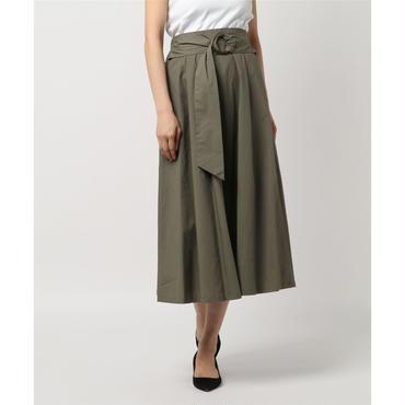 綿ブロードフレアスカート 10324013