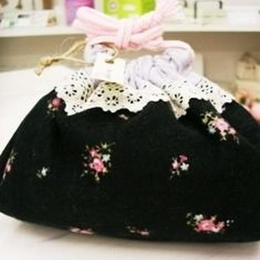 【soyumi*】巾着ポーチ P37-0161