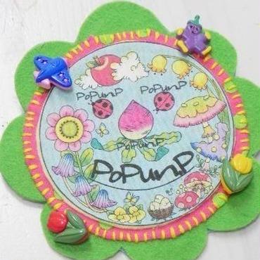 【PoPun.P】ワッペン S48-0198