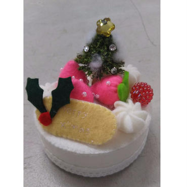 【KANADE】フェルトケーキ ホワイト P29-501