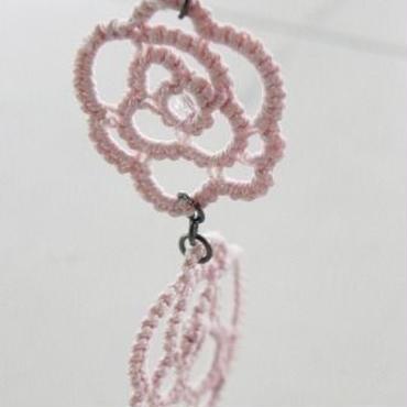【regal】薔薇ストラップ PINK F4-0022