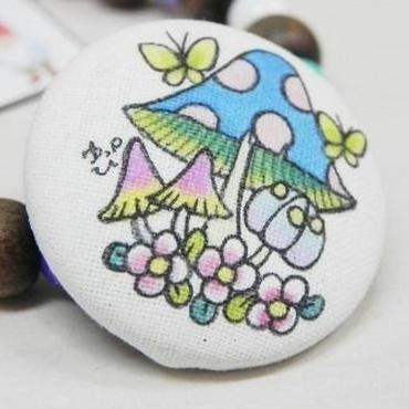 【PoPun.P】ヘアゴム ブルー S48-249
