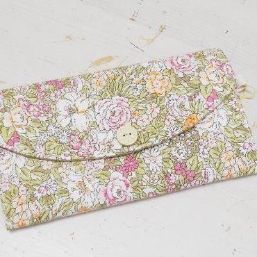 【ああ】カード入れ ピンクのバラ P17-1215