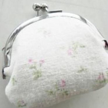 【KANADE】がま口 小 ホワイト P29-0330
